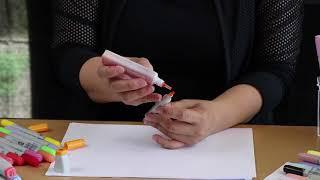 COPIC 麥克筆如何 加墨水?