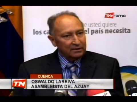 Asambleísta Larriva llama a ministra de transporte por vialidad en el Azuay