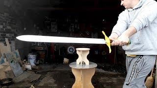 Making The Z Sword - Dragon Ball Z -