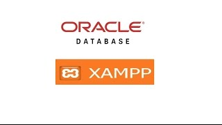 install Oracle database xampp and config php connect to oracle Mp3