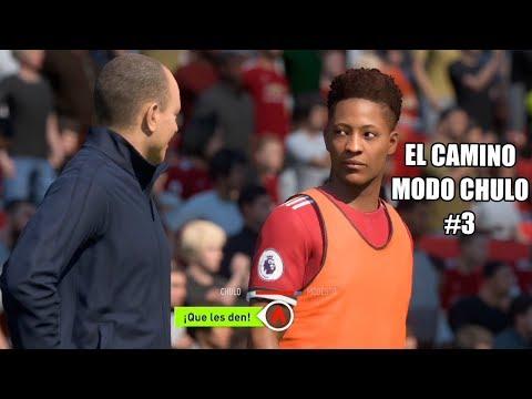 FIFA 18 EL CAMINO MODO CHULO   ALEX HUNTER SE ENCARA CON SU AFICIÓN #3