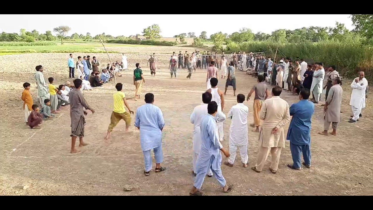 Shooting Vallyball Show Match(HD)Chakrian vs Gadhu Kalan 2020 شوٹنگ والی بال میچ