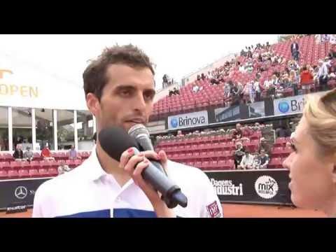 Albert Ramos Vinolas in the semifinals