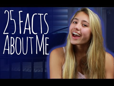 25 Facts About Me  Lia Marie Johnson