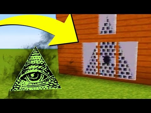 Joining the ILLUMINATI in Minecraft.. (Do Not Try This)