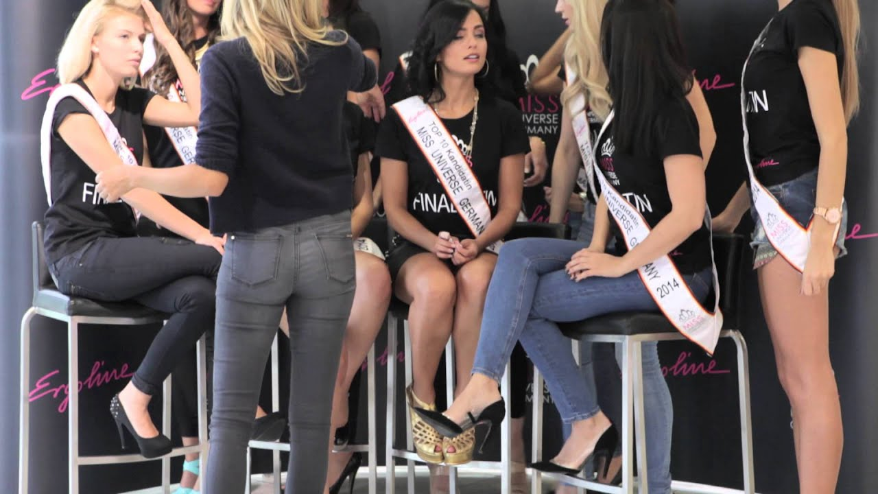Finalwochende der Miss Universe Germany-Wahl! - YouTube
