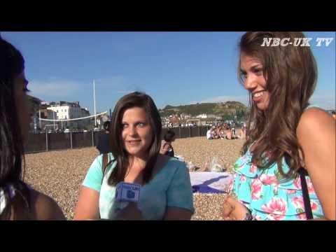 NBC-UK Hastings Beach Tour 2013