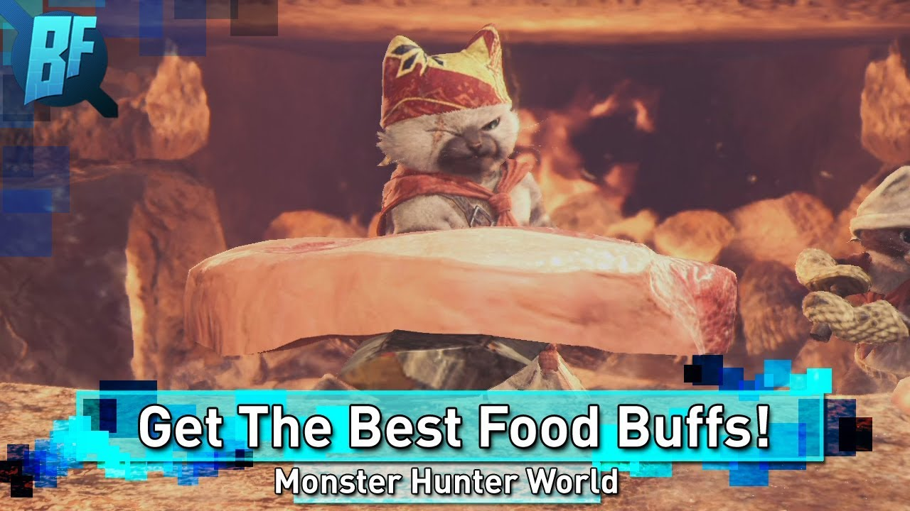 Monster Hunter World How To Get The Best Food Buffs Canteen Guide