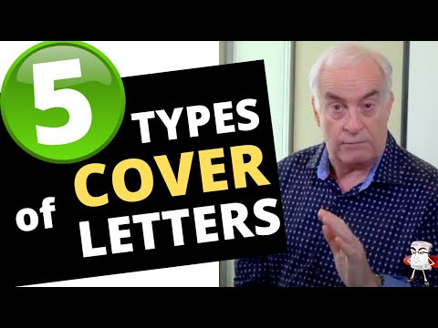 5 Types of Cover Letters