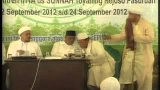 """Kh.hasyim Muzadi""""FPI ORMAS PALING POPULER DI DUNIA"""" Part 3.mpg"""