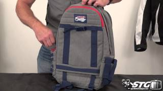 Ogio Red Bull Signature Series Skate Back Pack Review From Sportbiketrackgear.com