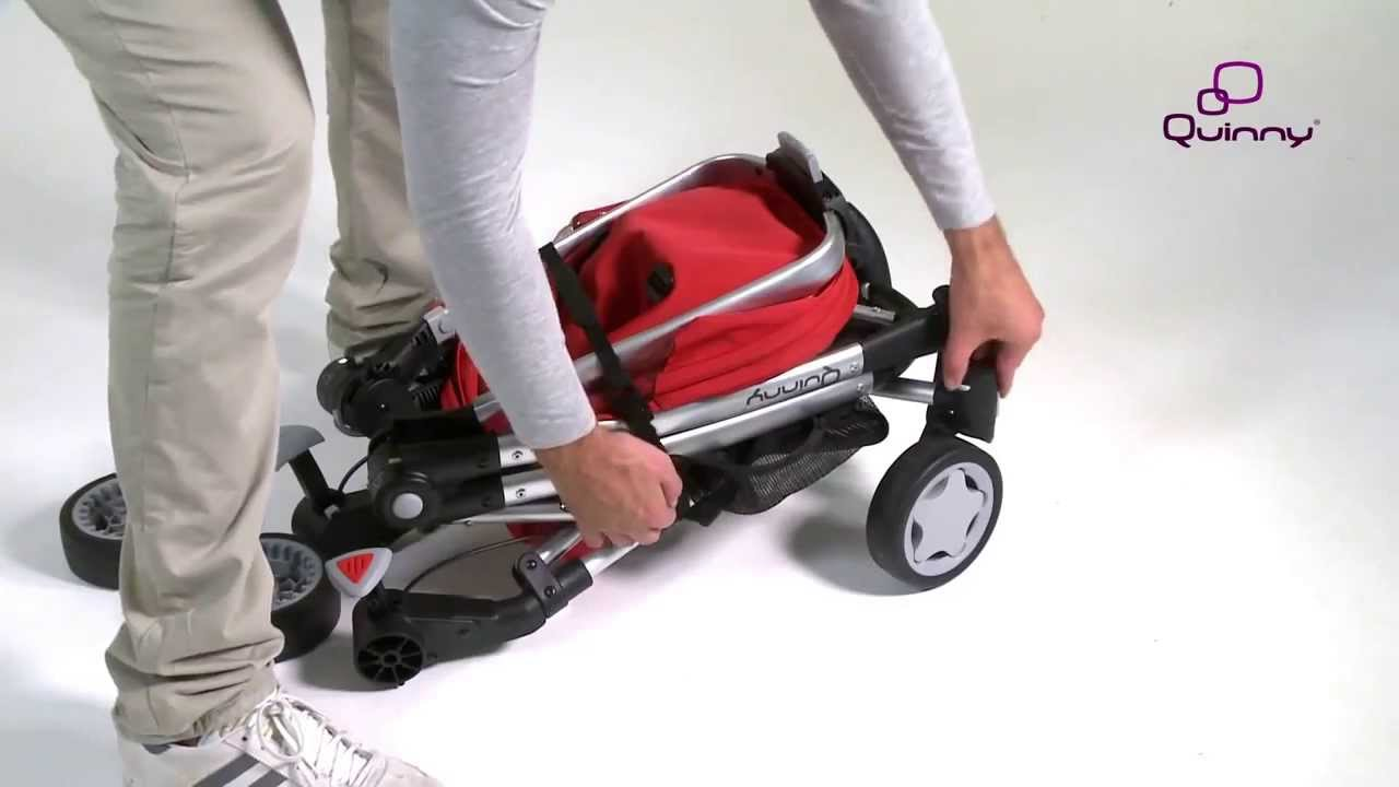 Quinny Zapp Xtra with Folding Seat Instruction Video - YouTube