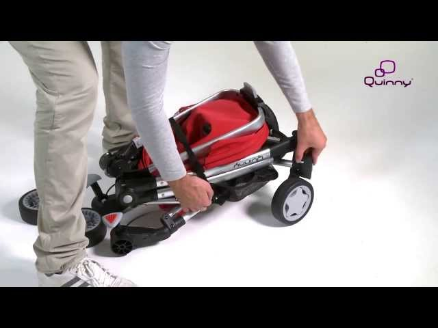 Quinny Zapp Xtra With Folding Seat Instruction Video