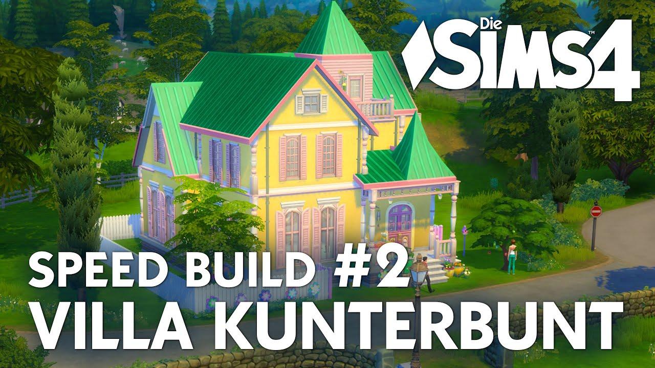 Die Sims 4 Villa Kunterbunt Speed Build #2 | Haus von Pippi ...