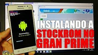 Instalando a Rom/Firmware no Samsung Galaxy Gran Prime Duos (SM-G531H) #UTICell