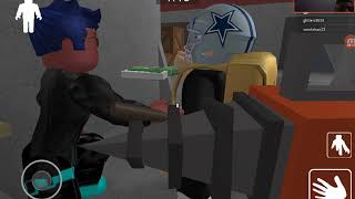 Playing granny roblox