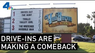 Friday Night Drive-Ins Making a Comeback in Age of Coronavirus | NBCLA
