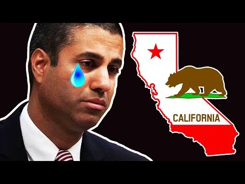 California Just Made Ajit Pai Very Sad