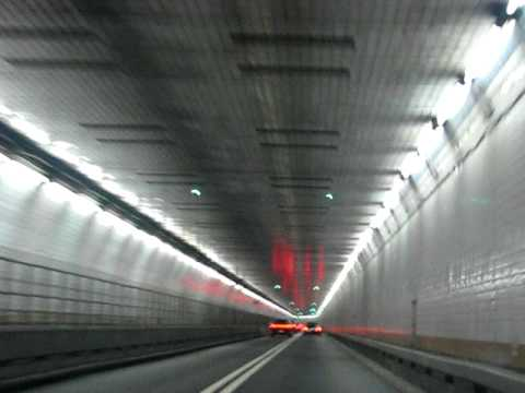 Holland Tunnel - Under water tunnel from New York to New Jersey