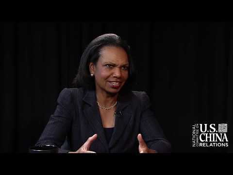 2018 CHINA Town Hall with Condoleezza Rice