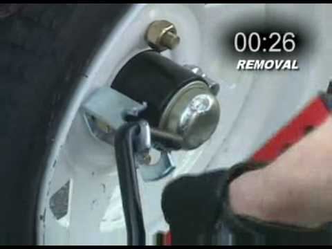 Trailer Security - Wheel Locks offer False Protection- Trailer Gator- 888-990-9149