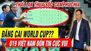Tin Bóng Đá Việt Nam 9/11: U19 Việt Nam Cực Vui Dẫn Đầu BXH Đội Nhì Bảng U19 Châu Á
