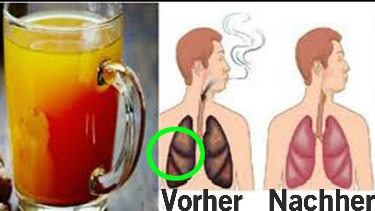 Bildergebnis für Eine Tasse dieses Getränks reinigt Ihre Lungen von Nikotin und Teer