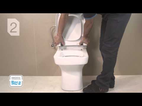 WC Seat And Cover - Installation | Roca