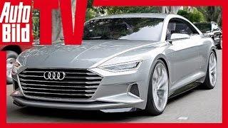 Gerade hat Audi seine zukunftweisende Studie auf der LA - Motorshow...