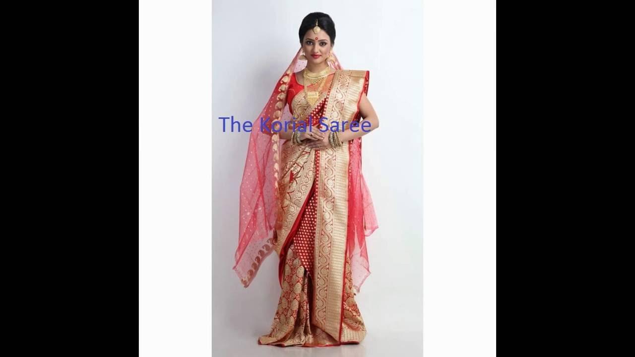 How to bengali wear bridal saree photos