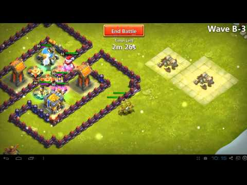 Castle Clash - Town Hall 11- How To Guide For Shard Farming
