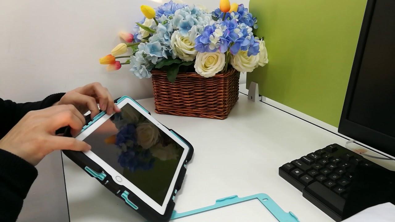 check out 14367 845e2 How to install a TKOOFN Heavy Duty iPad Case for iPad Mini, iPad 2/3/4,  iPad Air, ipad Pro