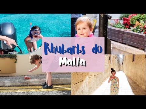 Rhubarbs do Malta: Travel with Three Kids