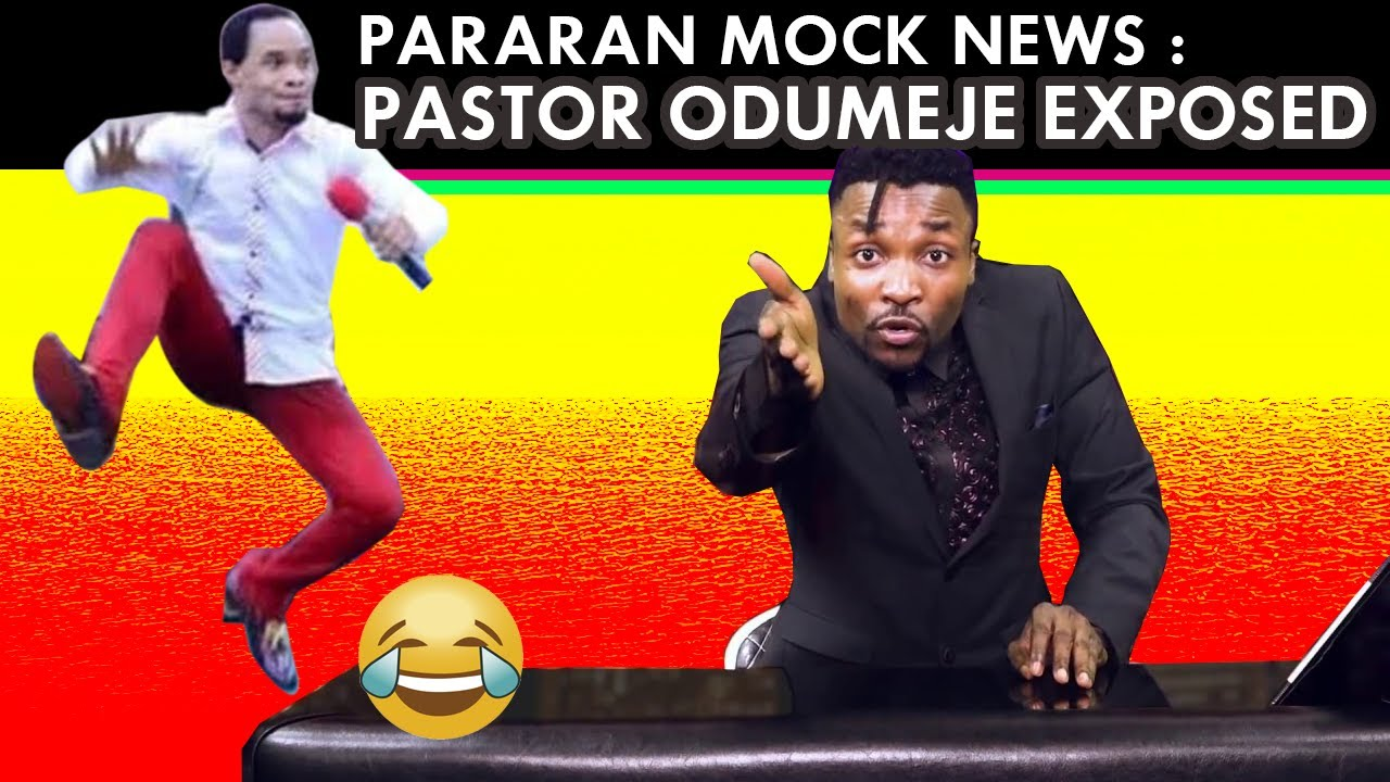 Download Pararan Mock News ( Episode 15) TRY NOT TO LAUGH ! Pastor Odumeje Exposed and many more funny news..