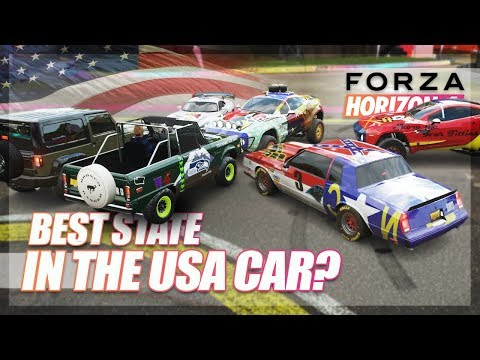 Forza Horizon 4 - What is the Best State in the USA? (Infection Challenge) thumbnail