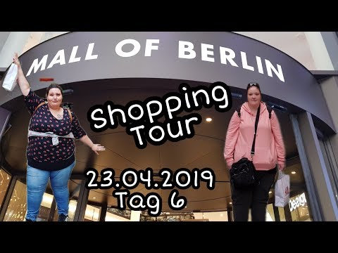 MALL OF BERLIN  SHOPPING TOUR  23.04.2019