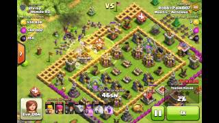 Clash of Clans-[Epic Raid with Barch]-540k of Each!