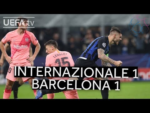 INTERNAZIONALE 1-1 BARCELONA #UCL HIGHLIGHTS Mp3