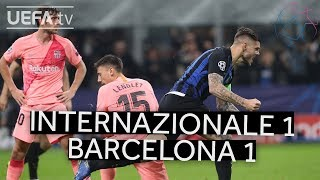 INTERNAZIONALE 1-1 BARCELONA #UCL HIGHLIGHTS