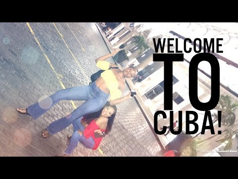 Girls Trip To Cuba Part 1: Salsa Dancing in the Street