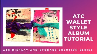 "ATC Wallet Style Album ""ATC Display & Storage Solution Series"""