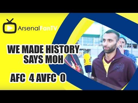 We Made History Says Moh | Arsenal 4 Aston Villa 0 | FA Cup Final
