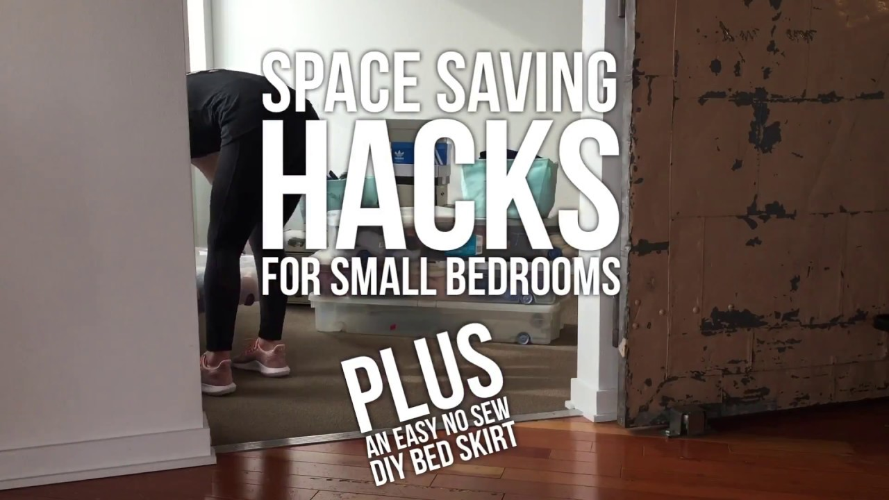 space saving hacks for small bedrooms youtube 19899 | maxresdefault