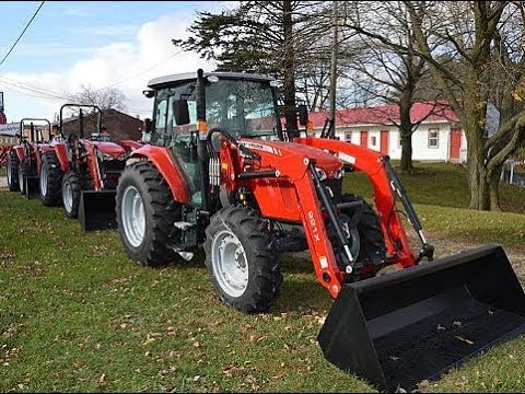 Massey Ferguson 4607M Tractor Price specifications Features | Review