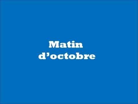 Poésie - Matin d'octobre François Coppée