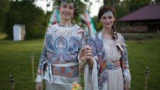 Славянская свадьба. Свадьба за границей. Свадьба в Латвии.