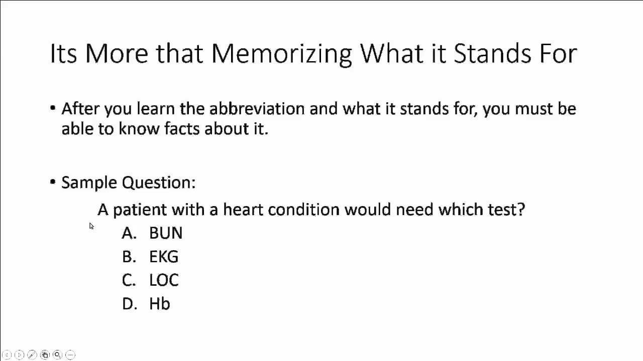 Open Campus Medical Terminology Module 6
