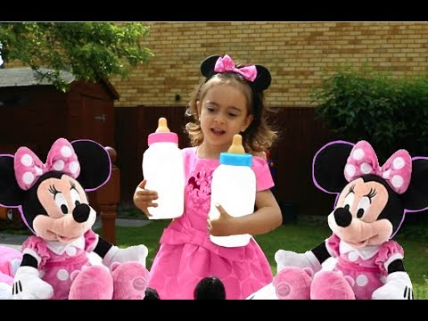 Disney Crying Minnie Mouse /Three Little Kittens Song 2