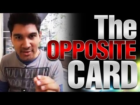 Free Magic Revealed : Easy Card Tricks : The Opposite Card