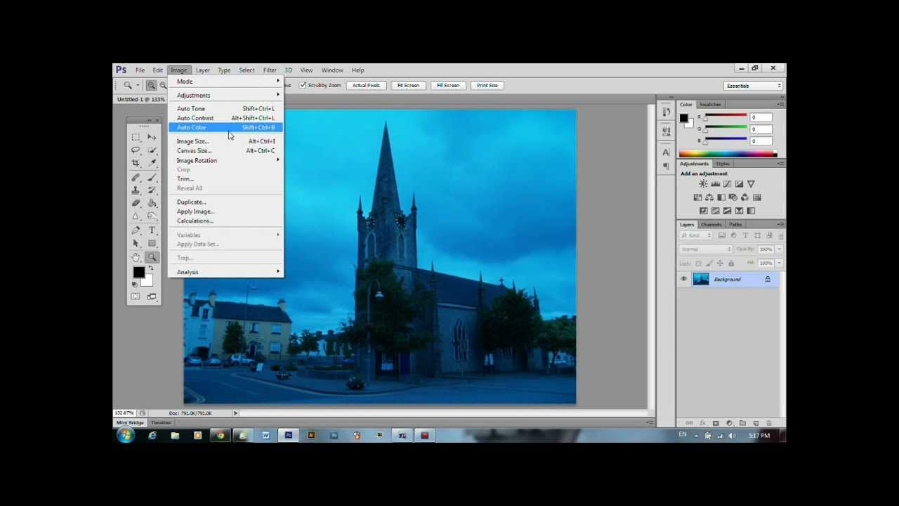 How to fix color cast in photoshop - Removing A Colour Cast In Photoshop Cs6